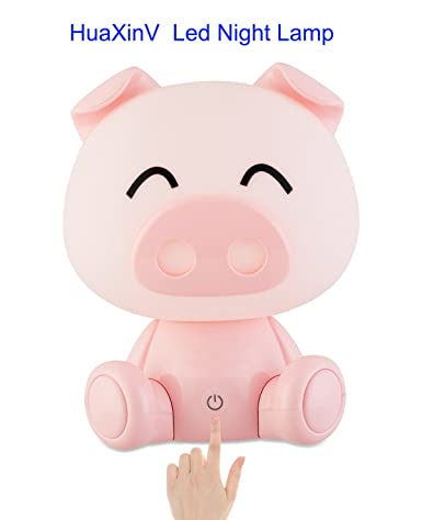 Home Improvement Cute Pig Nose Smart Sensor Control Led Night Light Lamp For Baby Children Bedroom New