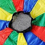 GSI Kids Play Parachute Rainbow Parachute Toy Tent