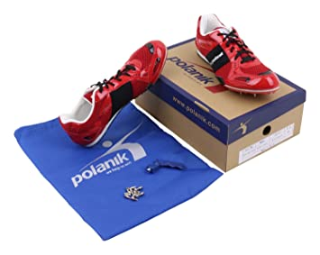 POLANIK Par de zapatillas con clavos para atletas de diferentes disciplinas deportivas - atletismo - talla