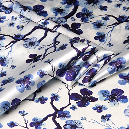 Summer Fabrics Satin Fabric - 1