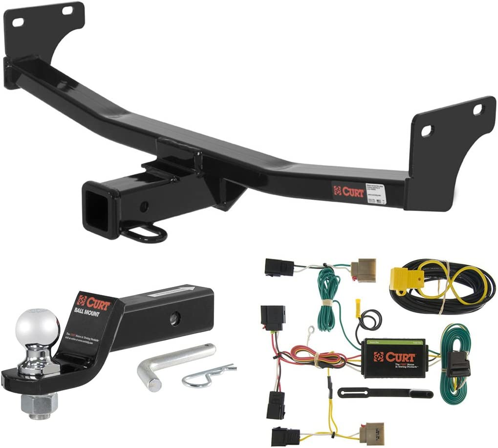 Patriot 1-1//4-Inch Receiver Select Jeep Compass CURT Manufacturing 120573 Class 2 Trailer Hitch with Ball Mount