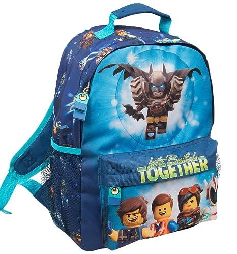 aa98d1734 Zaino Lego per Bambino Zainetto Elementari Lego Movie Batman: Amazon ...