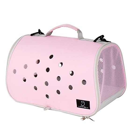 Amazon.com : YD Pet Travel Carrier Shoulder Pet Backpack Pet Outing Package Dog Bag Cat Cage Cat Bag Outgoing Portable Dog Bag Outdoor Travel Pet Supplies ...