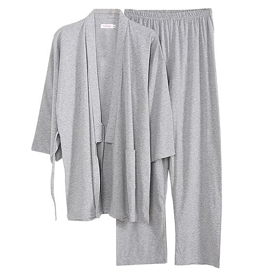 Software para Hombre Estilo japonés Kimono Pijama Traje Bata ...