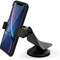 ARTECK Car Mount, Universal Mobile Phone Car Mount Holder 360° Rotation for Auto Windshield and Dash, Universal for Cell Phones Apple iPhone Xr, Xs, Xs Max, 8 Plus, Android Smartphone, GPS and Others