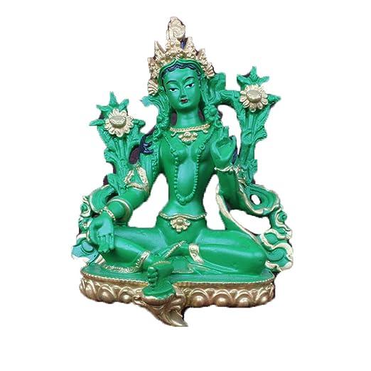 Liangliang988 Estatua de Buda de Resina de Tatuajes tántricos ...