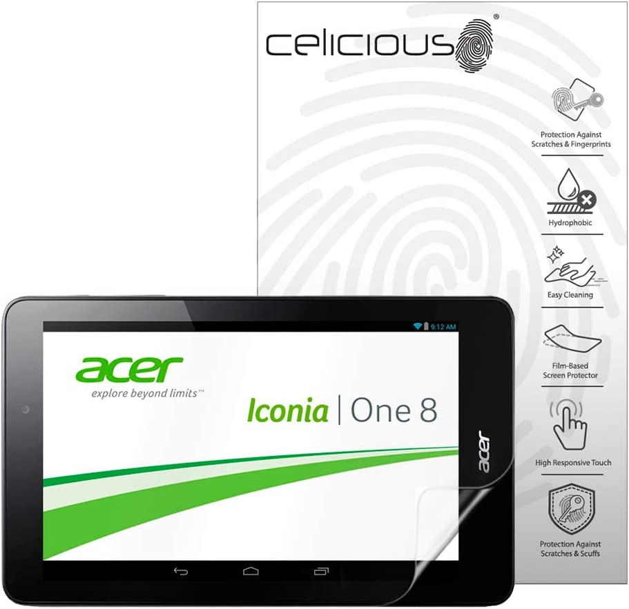 Celicious Impact Anti-Shock Shatterproof Screen Protector Film Compatible with Acer Iconia One 8 B1-810