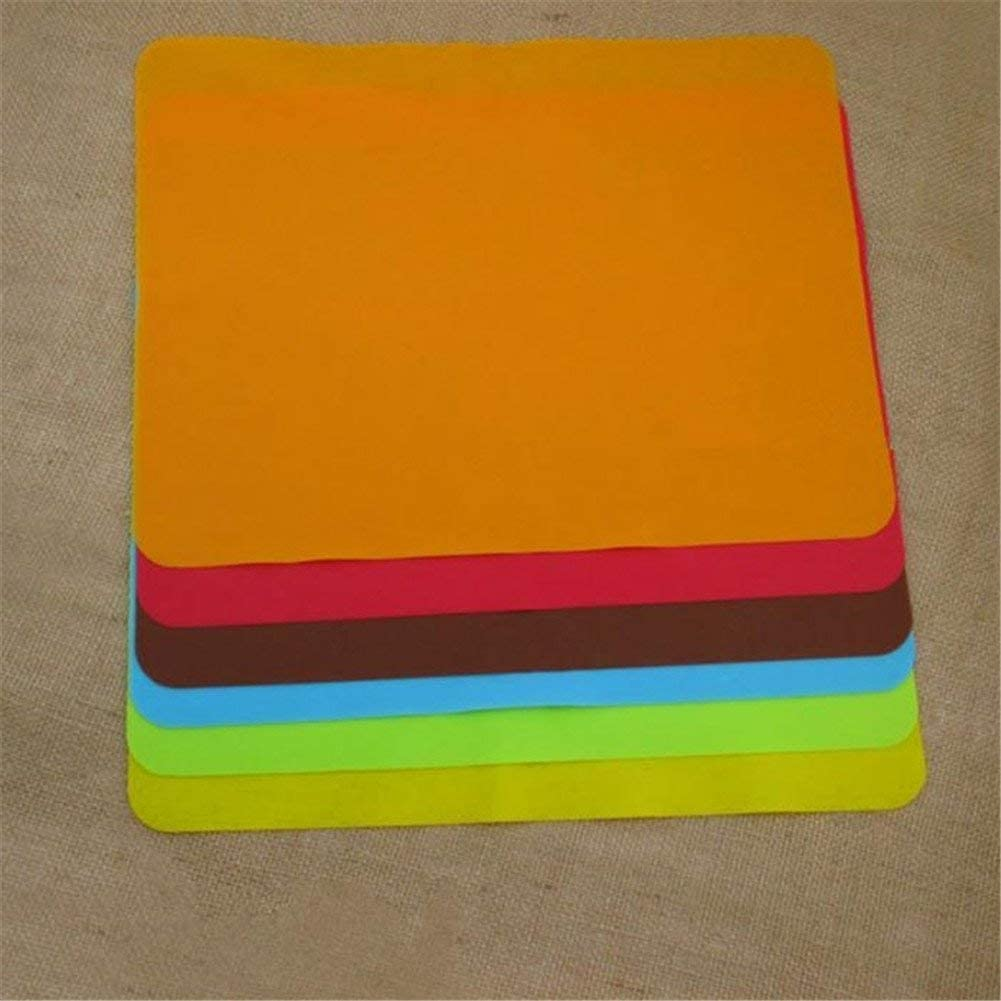 AUSUKY Silikonunterlage Backgeschirr Pfanne Antihaft Mehrzweck-Silikon-Backmatten Pads Formen Backen Liner Kochmatte Backblech Backblech Backblech K/üchenwerkzeug