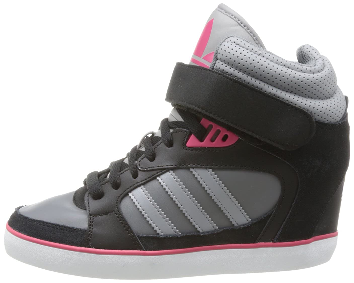huge discount cad0e c410a adidas Originals AMBERLIGHT UP W High Top Womens, Schwarz (BLACK1ALUMI),  6.5 UK Amazon.co.uk Shoes  Bags