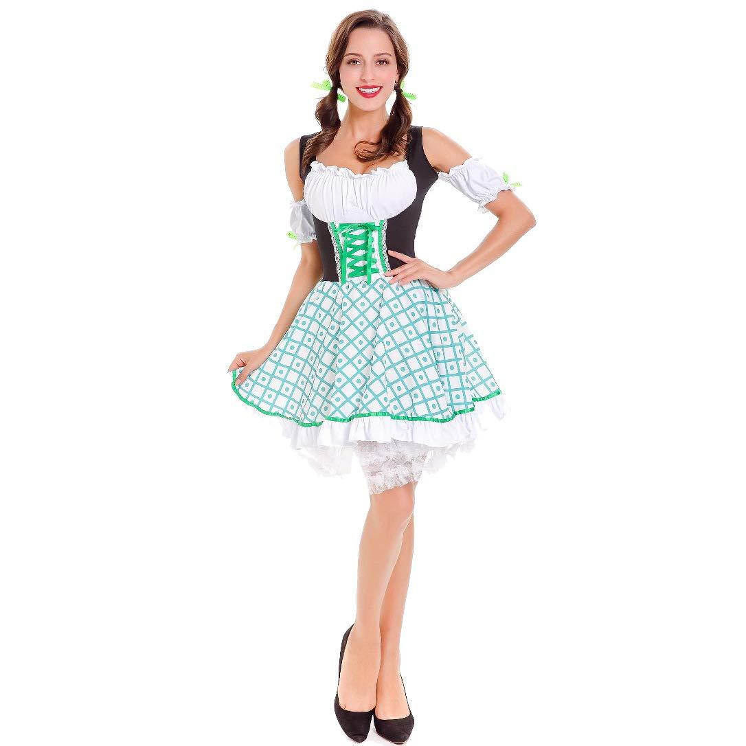 ACHICOO Halloween. Oktoberfest Mujeres patrš®n de cuadros ...