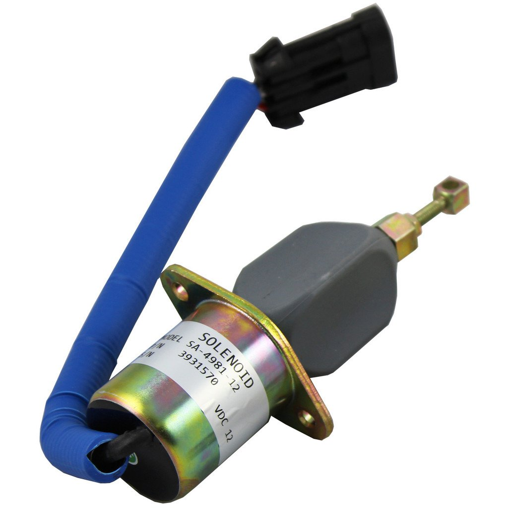 Generic New Fuel Shut Off Solenoid For 94 98 59l Dodge 1998 Ram 2500 Sel Wiring Diagram Diesel Cummins With Bracket Kits 3931570 5016244aa Automotive