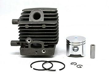 HS PARTS Pistón y cilindro para desbrozadora Stihl FS38 FS45 ...