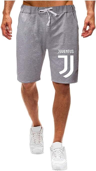 Hombre Pantalones Cortos De Chándal Casuales Jogger Pantalón ...