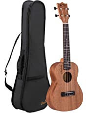 Professional 23 Inch Concert Ukulele for Child Rosewood Small Child Guitar for Kids Ukulele Beginner