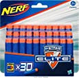 Nerf - A0351e350 - Jeu De Fléchettes - Elite Recharges - 30 Fléchettes