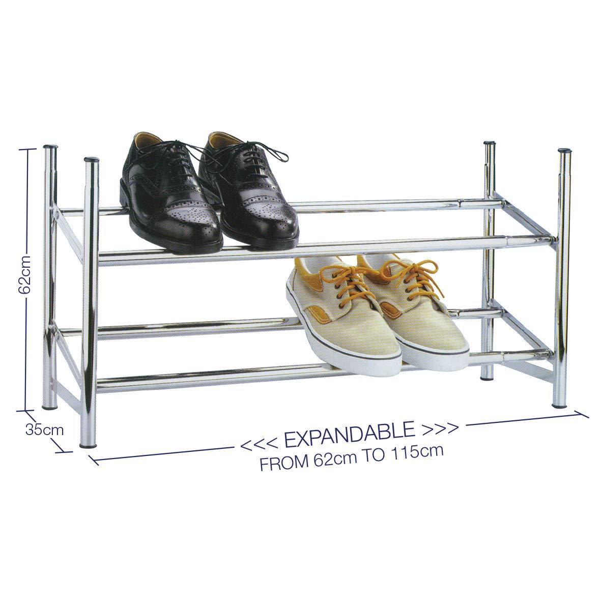 Medidas del zapatero metálico Knight para 12 pares de zapatos