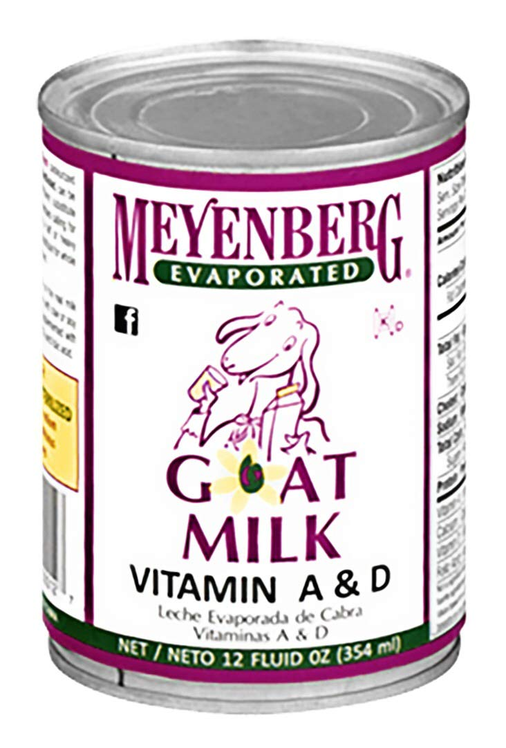 Meyenberg Evaporated Goat Milk (3 Pack) 12 oz Cans by Meyenberg