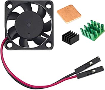 Easycargo Raspberry Pi Ventilador Disipador Calor para Enfriar ...