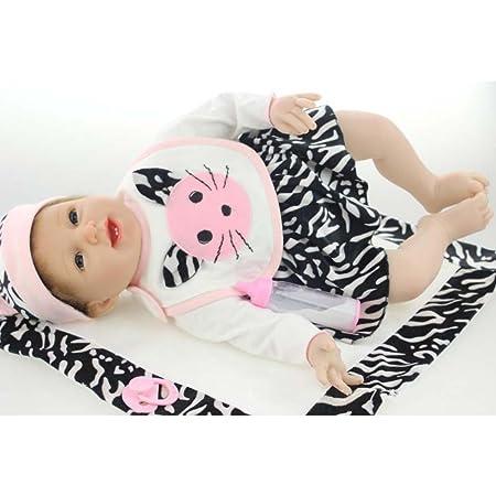 Amazon.com: Muñecas realistas de silicona para bebé, diseño ...