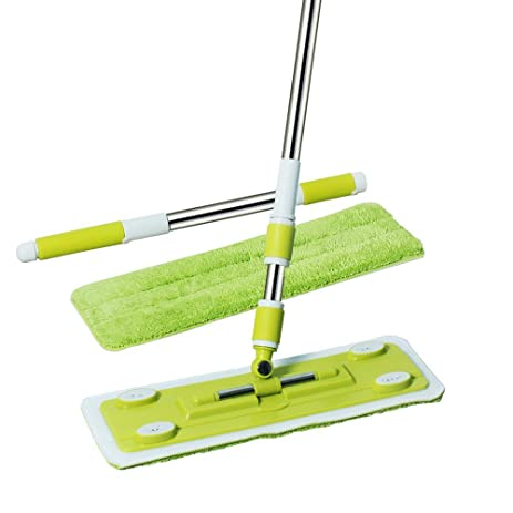 Amazon.com: Senmo Microfiber Flat Mop, Best Floor Mop for Hardwood ...