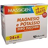 MASSIGEN MAGNESIO Y POTASIO ZERO AZUCAR 24 BOLSAS