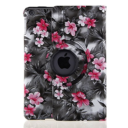 iPad Air 2  Case Cover - TOPCHANCES 360 Degrees Rotating PU