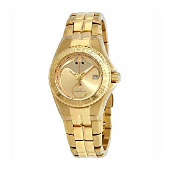 TechnoMarine Cruise Gold Dial Ladies Watch 115186