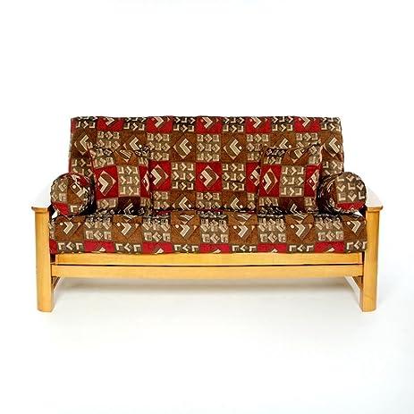 ls covers bingus full futon cover full size fits 6 8in mattress 54 amazon    ls covers bingus full futon cover full size fits 6      rh   amazon
