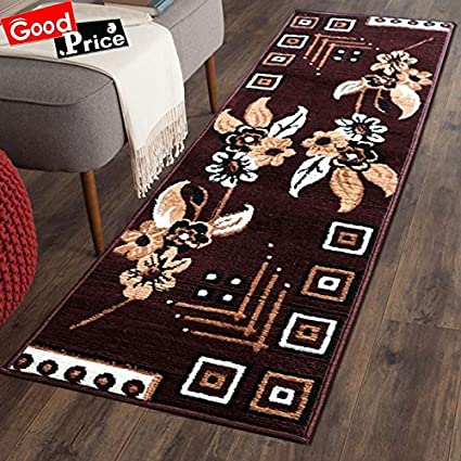 Good Price Carpet for Home 22X55 inch - Brown