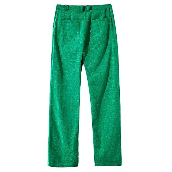 321dd87344 MOTOCO Nuovo Stile Estivo da Uomo Semplice e alla Moda Pantaloni in ...
