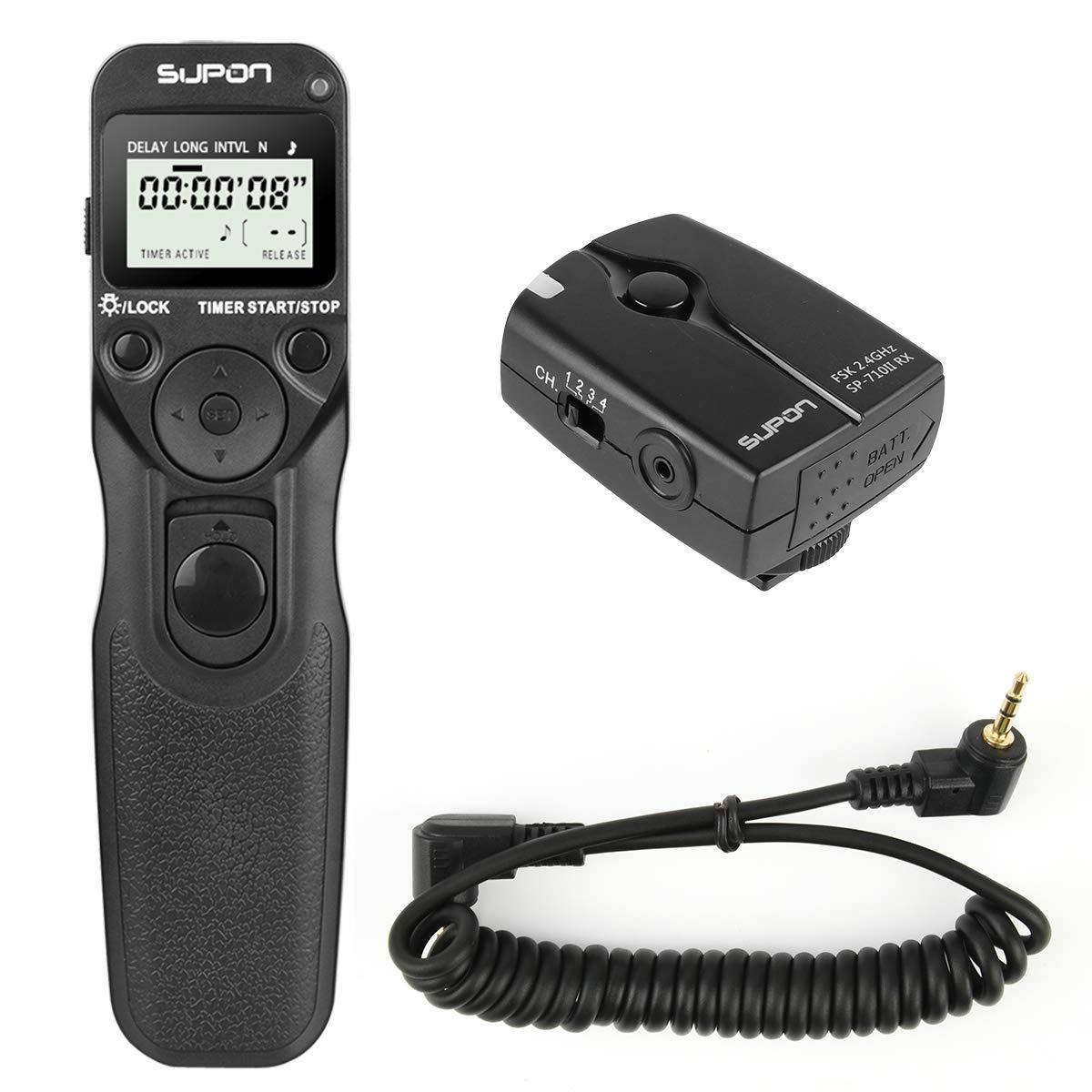 Cable disparador Nikon d300s d2xs d2h d3s d2hs d700 d1x a distancia control remoto desencadenador
