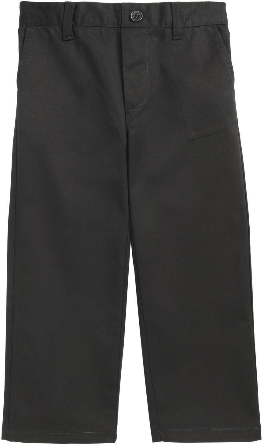 French Toast School Uniform Boys Pull On Pants, Black, 2T