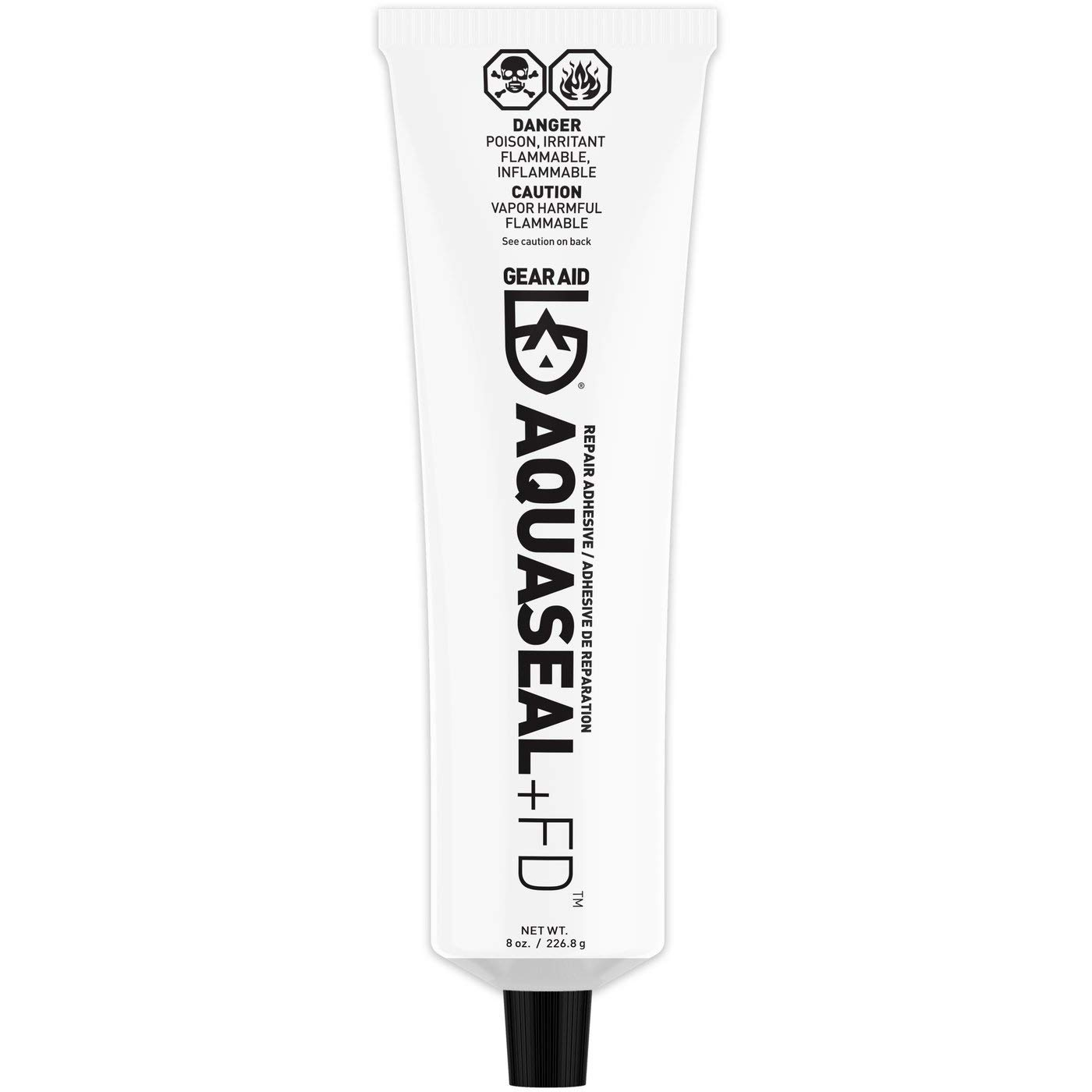 Gear Aid Aquaseal Urethane Repair Adhesive, 8 oz Tube