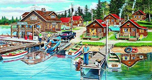 Timber Lodge 300 Piece Jigsaw Puzzle by SunsOut