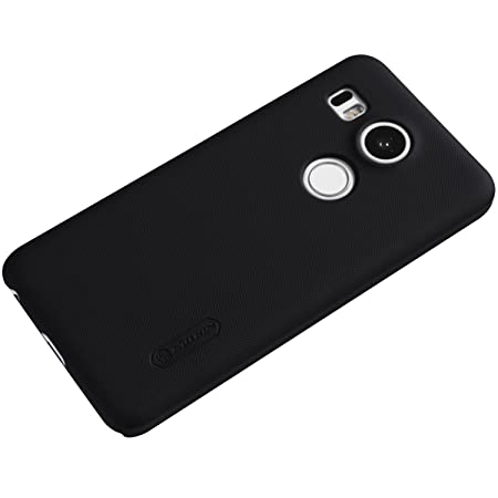 Nillkin Frosted Shield - Carcasa trasera protectora y antideslizante + film de pantalla para LG Nexus 5X (Google): Amazon.es: Electrónica