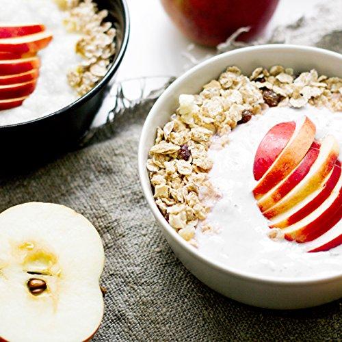 nu3 Muesli Low Carb sabor tropical | 575g de mezcla de avena y cereales | Desayuno vegano nutritivo bajo en carbohidratos | 13g de fibra y 44g de proteína ...