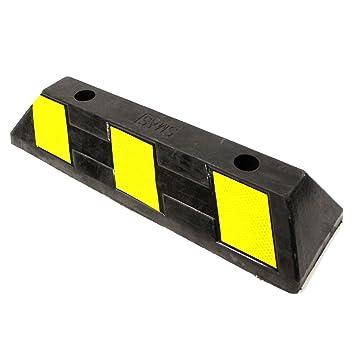 Tope de goma para ruedas de coche para aparcamiento en garaje o parking. 49cm 1-pack.: Amazon.es: Electrónica