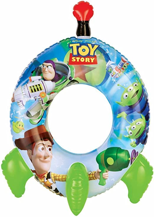 Intex 58252NP–Toy Story Rocket Swim Ring, 71x 56cm