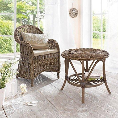 rattansessel koboo grey sessel gartenm bel gartensessel rattanstuhl rattan korbsessel korbstuhl. Black Bedroom Furniture Sets. Home Design Ideas