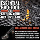 Grillaholics Essentials Grill Brush Steel - Triple