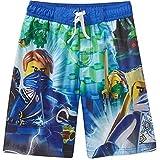 Lego Ninjago Little Boy Swim Trunks Shorts Swimsuit Size 10/12