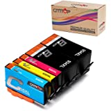CMTOP 934xl 935xl Ink Compatible for HP 934 935 XL 934xl 935xl Ink cartridegs, 5 Packs, High Yield, Use in HP Officejet Pro 6830 6230 6815 6835 6220 6812 6820 6825 Printers