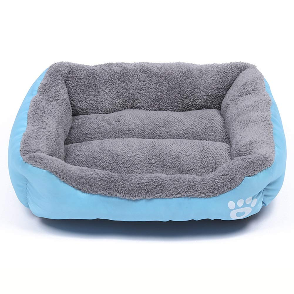 D XlPet house Deluxe Soft Washable Basket Bed Cushion with Fleece Lining for Dogs (color   E, Size   L)