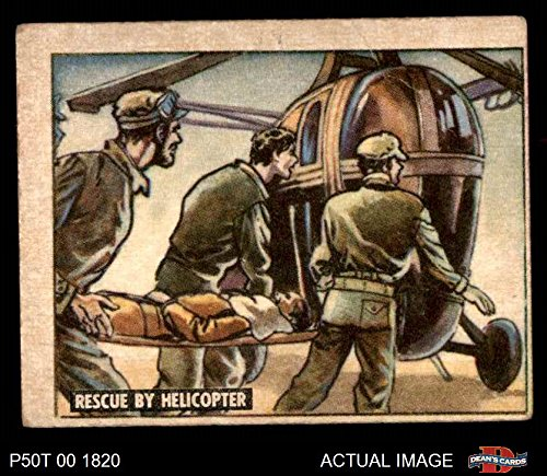 1950 Topps Freedoms War # 142 Rescue by Helicopter (Card) Dean's Cards 3 - VG 2772435