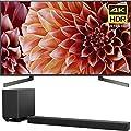 Sony 75-Inch 4K Ultra HD Smart LED TV 2018 Model (XBR75X900F) with Sony 7.1.2ch 800W Dolby Atmos Sound Bar