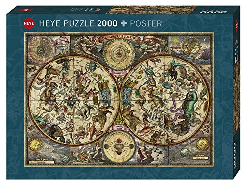 Heye Puzzles - 2000pc - Celestial (Celestial Family Map)