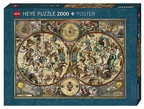 Heye Celestial Map Puzzles (2000Piece, MultiColour)