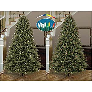 Amazon.com: GE 7.5-ft Pre-Lit Colorado Spruce Full ...