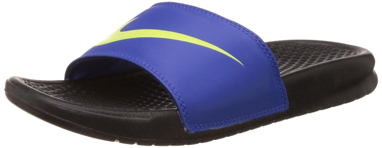 info for 4541f 04f80 Nike Men's Benassi Swoosh Flip-Flops and House Slippers