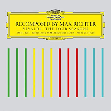 Max Richter Antonio Vivaldi Andra De Ridder Recomposed By Max Richter Vivaldi The Four Seasons Music